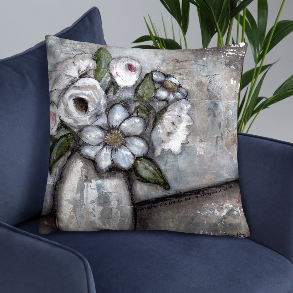 Beauty in Everything Basic Pillow