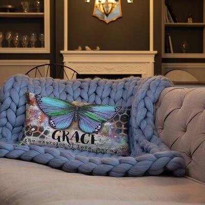Grace butterfly Basic Pillow