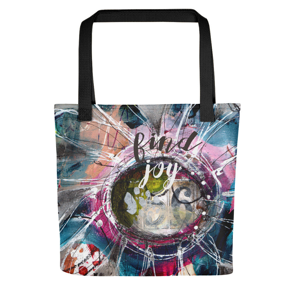 Find Joy Tote bag