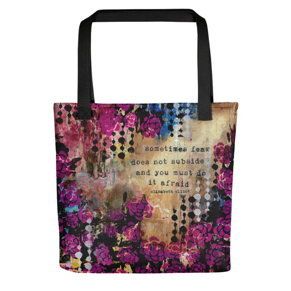 Sometimes Fear Tote bag