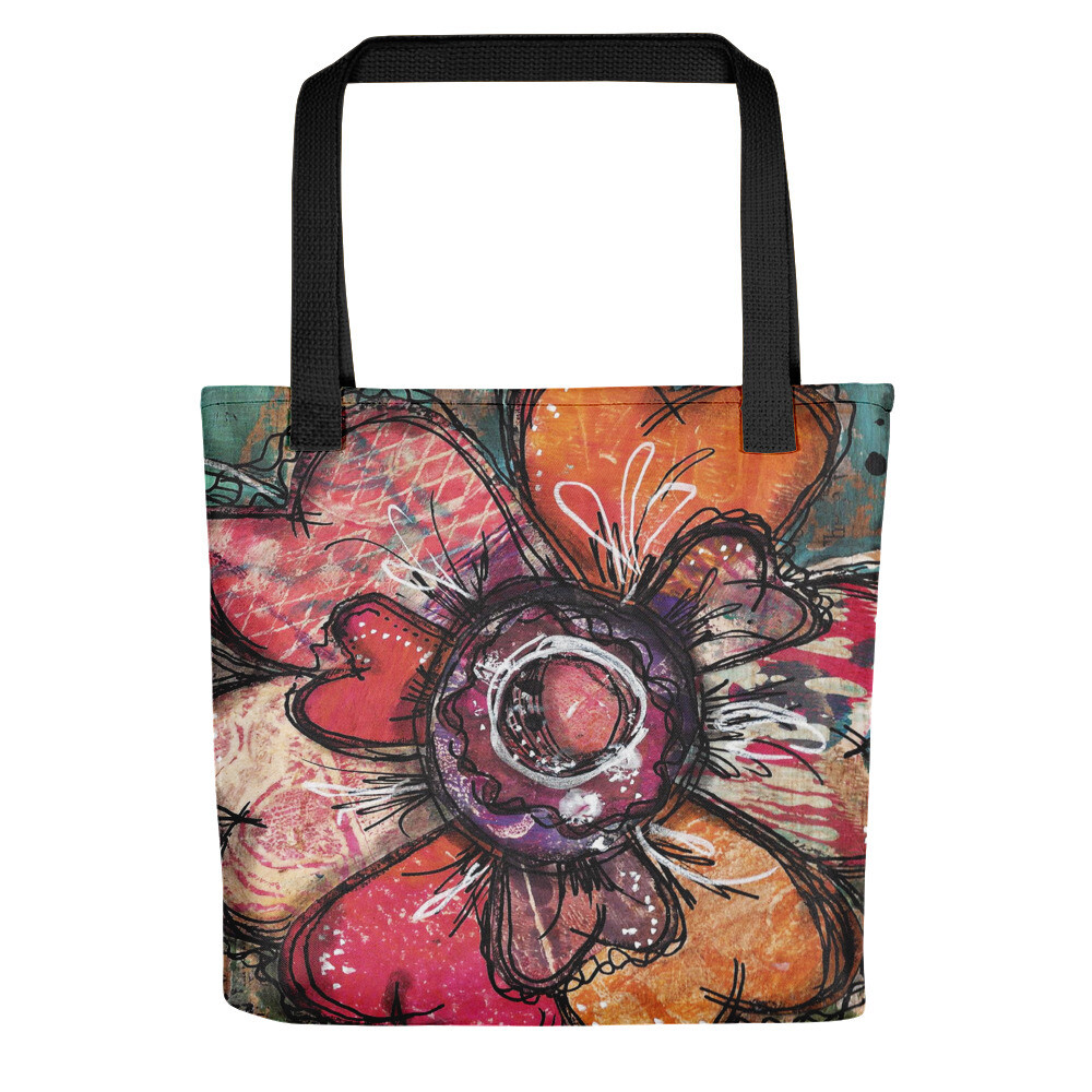 Bloom flower Tote bag