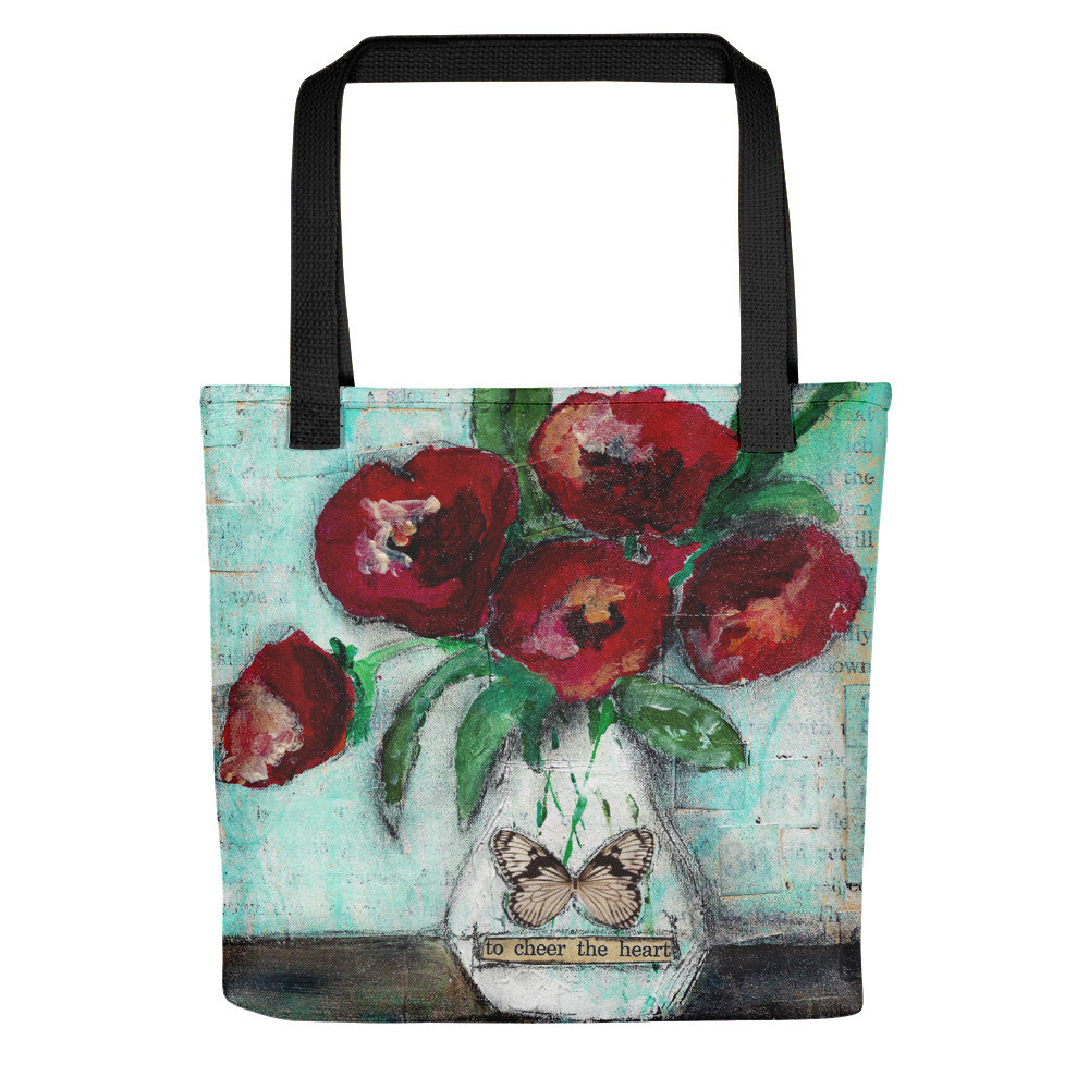 To Cheer the Heart Tote bag