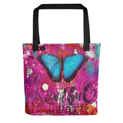 Soulful Heart Tote bag