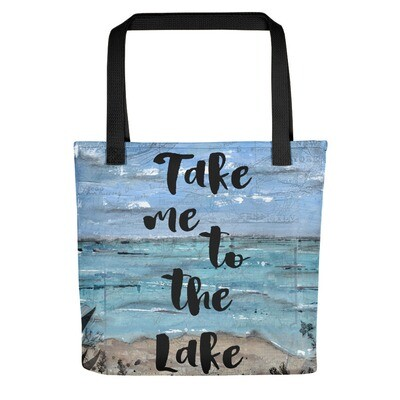 Take me to the Lake Tote bag