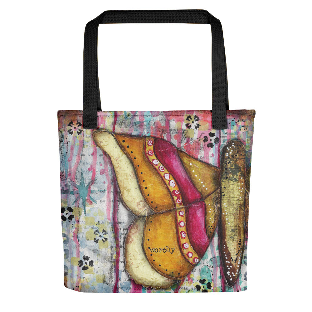 Worthy butterfly Tote bag
