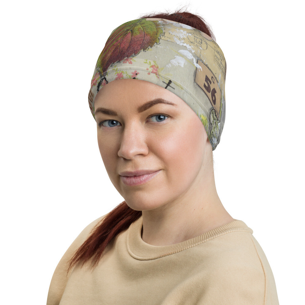 Floral Head Wrap/Neck Gaiter