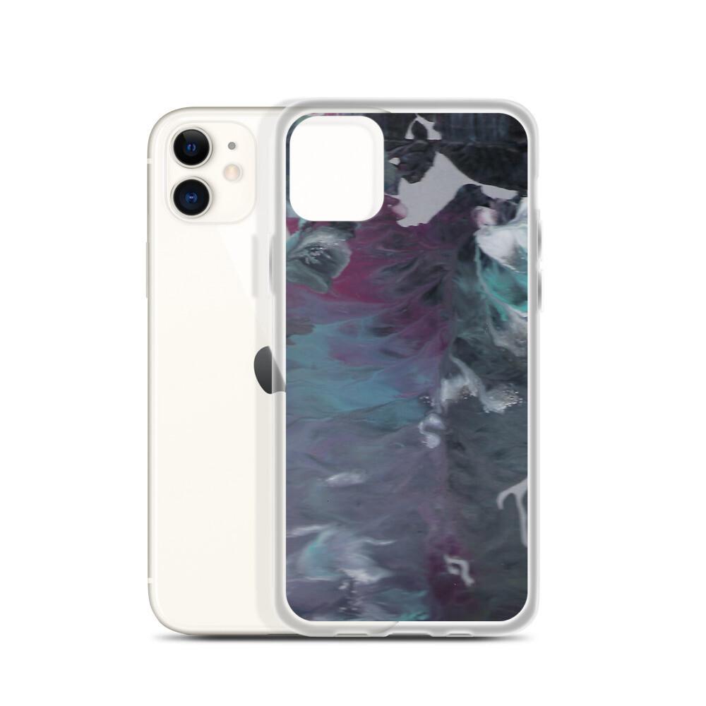 Paint Pour 1 iPhone Case