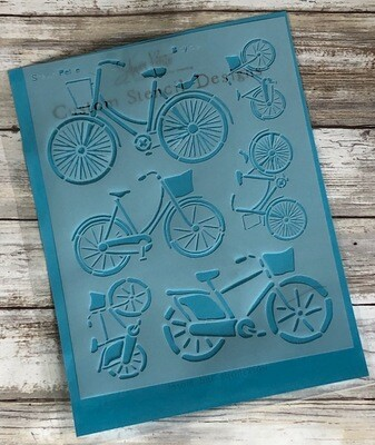 Bicycle stencil clearance
