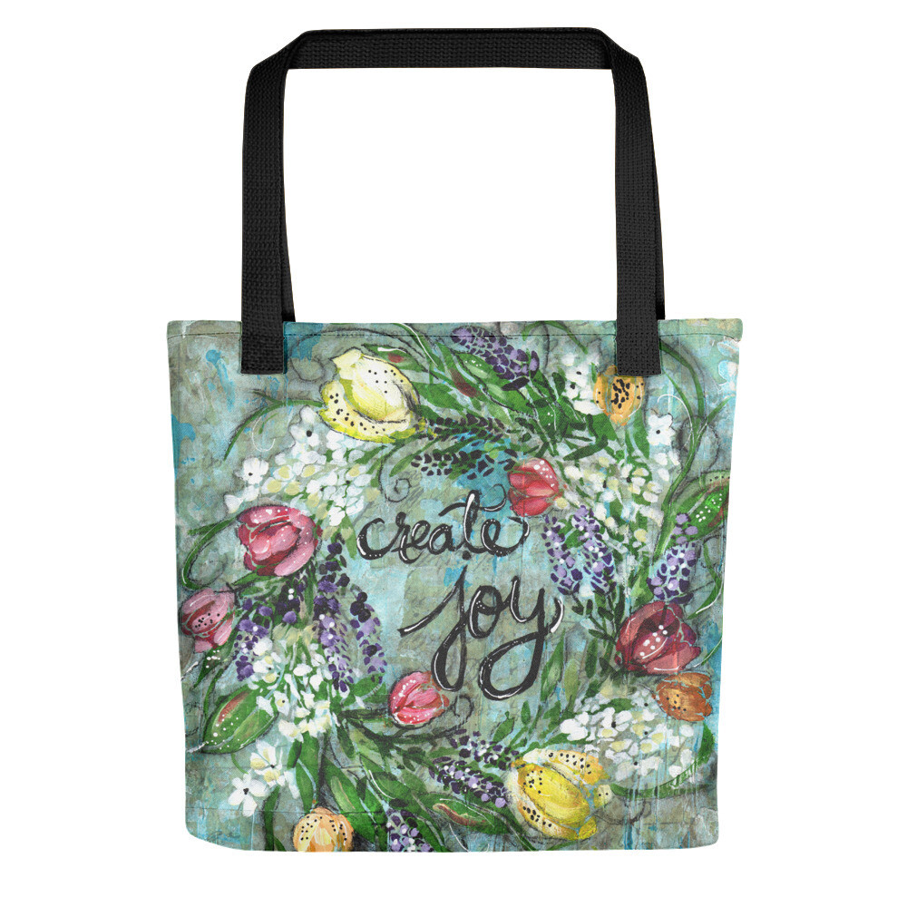 Create Joy Tote bag