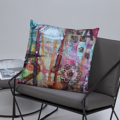 Abstract Basic Pillow
