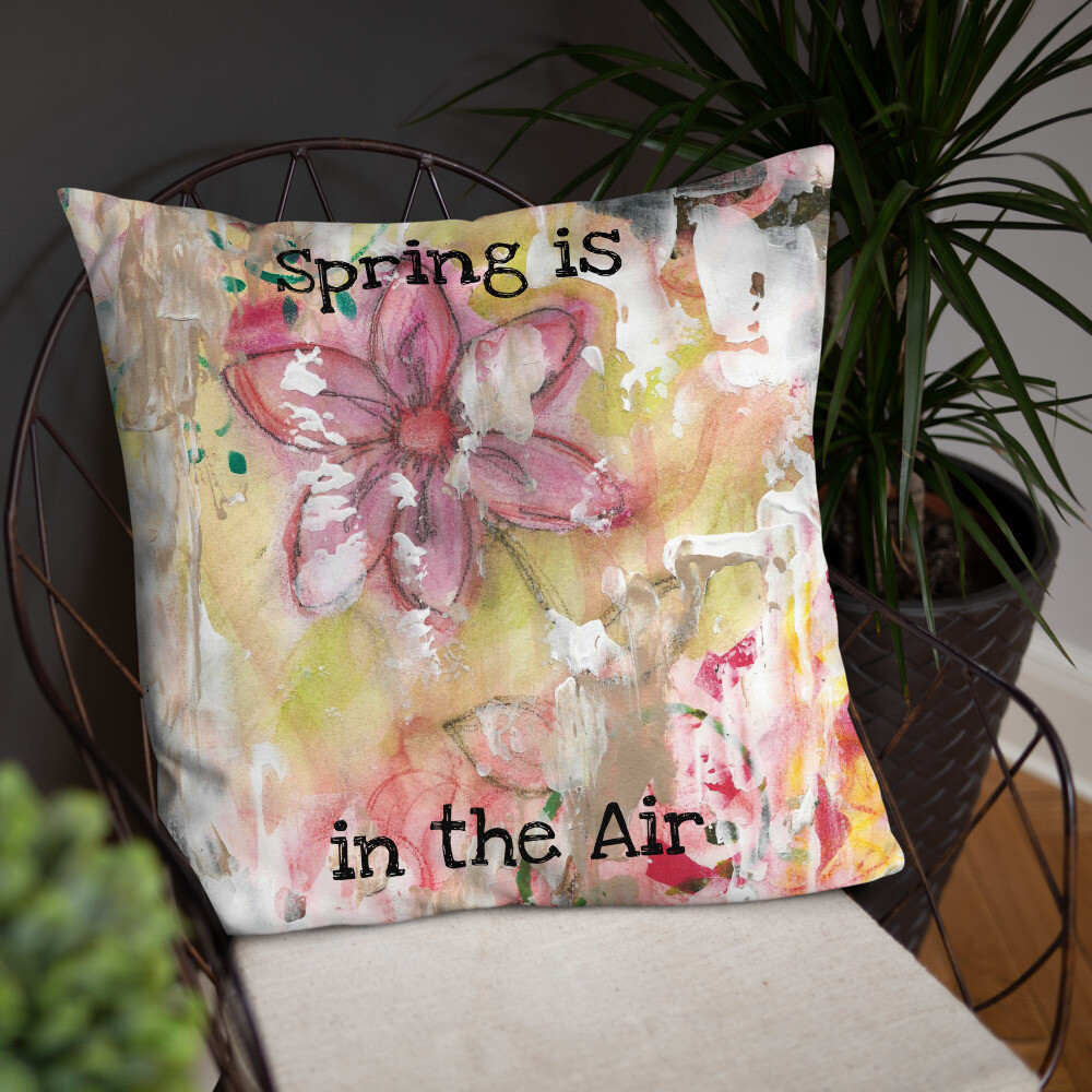 Spring is in the Air Basic Pillow