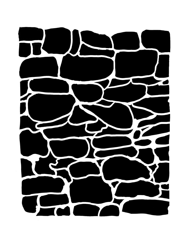 Boulder 8x10 stencil