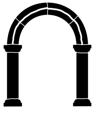 Arch 1 round large 8x10