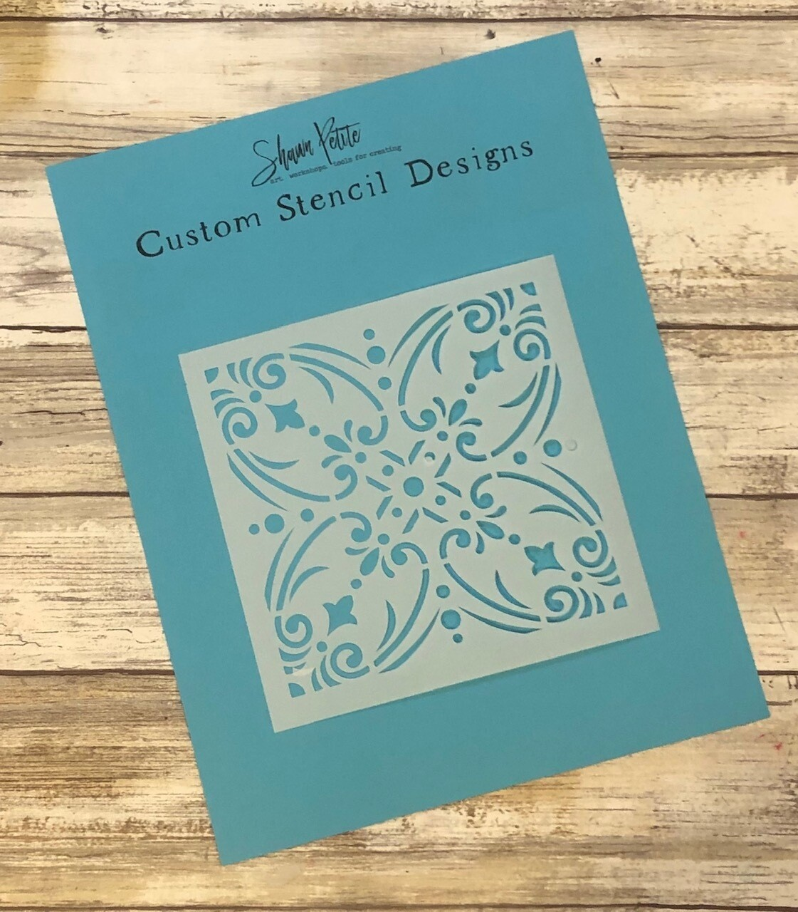 Moroccan Tiles 1 6x6 clearance stencil