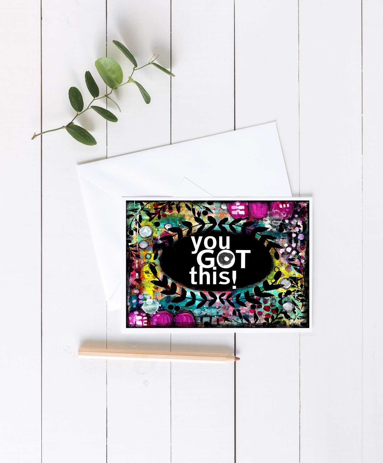 """You Got This"" 7x5 4 pack"