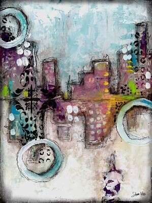 Hidden city abstract