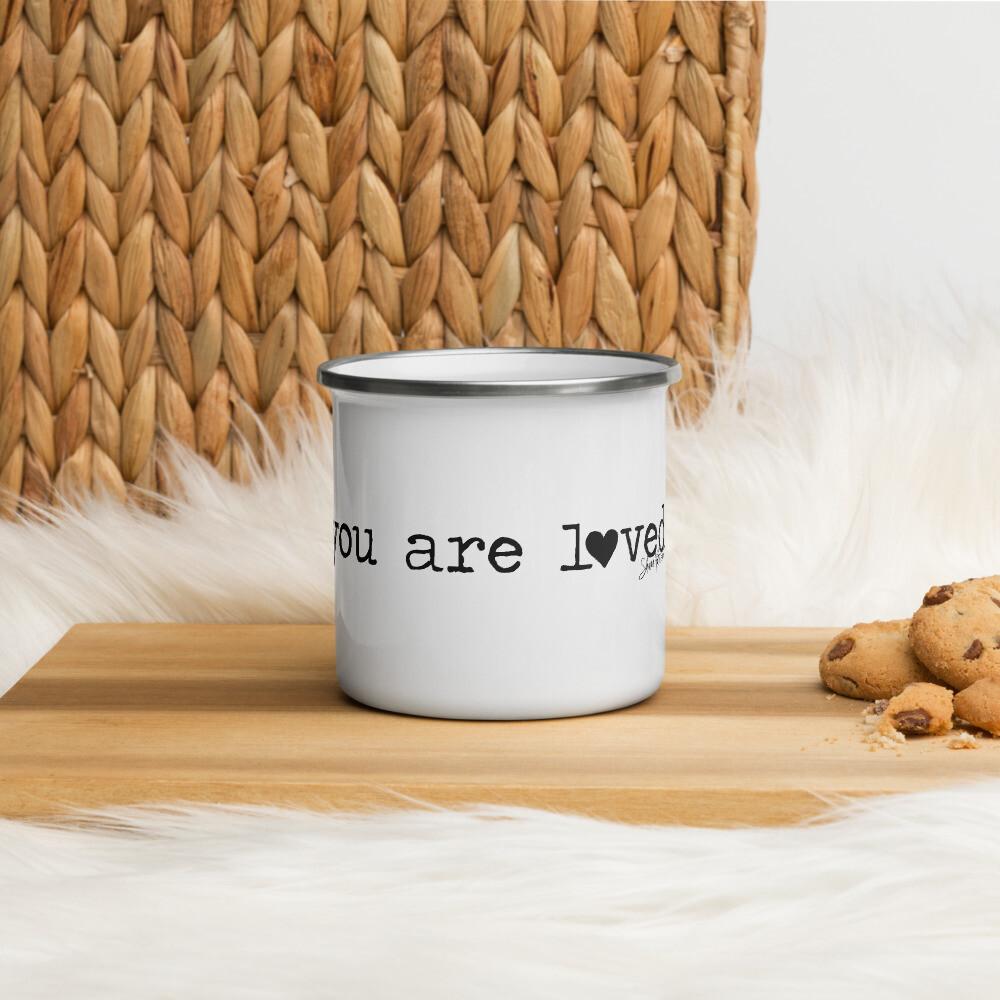 You are Loved Enamel Mug