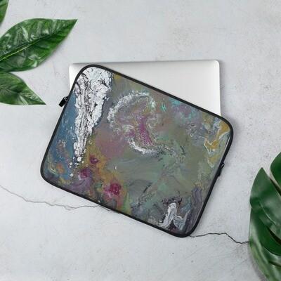 Paint Pour 2 Laptop Sleeve
