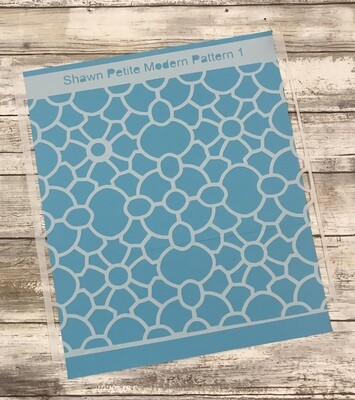 Modern Pattern 1 12x12 stencil CLEARANCE