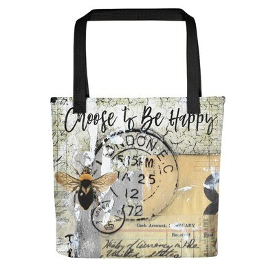 Be Happy Tote bag