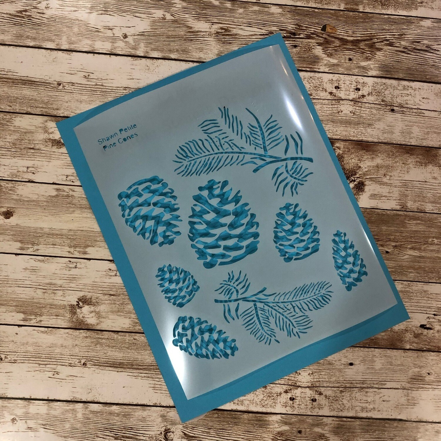 Pine Cones 8x10 clearance stencil