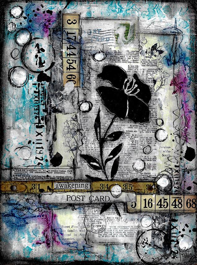 """Awakening"" Print on Wood 4x6 Overstock"