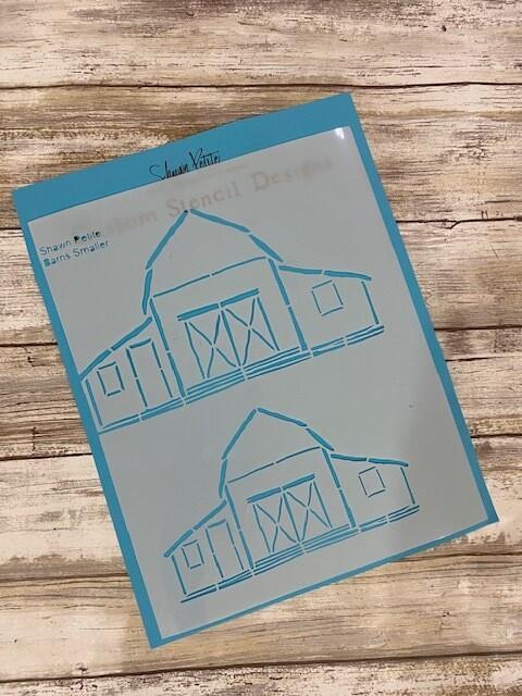 Barns Smaller clearance stencil