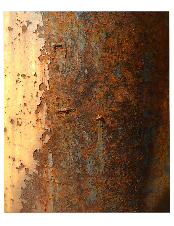 Rusty Textures collage pak instant download  8 pages