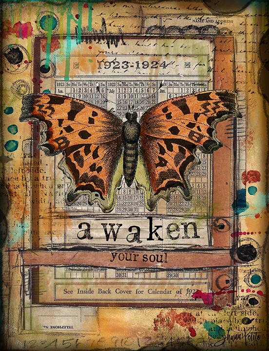 """""""Awaken"""" Print on Wood 5x7 Overstock"""