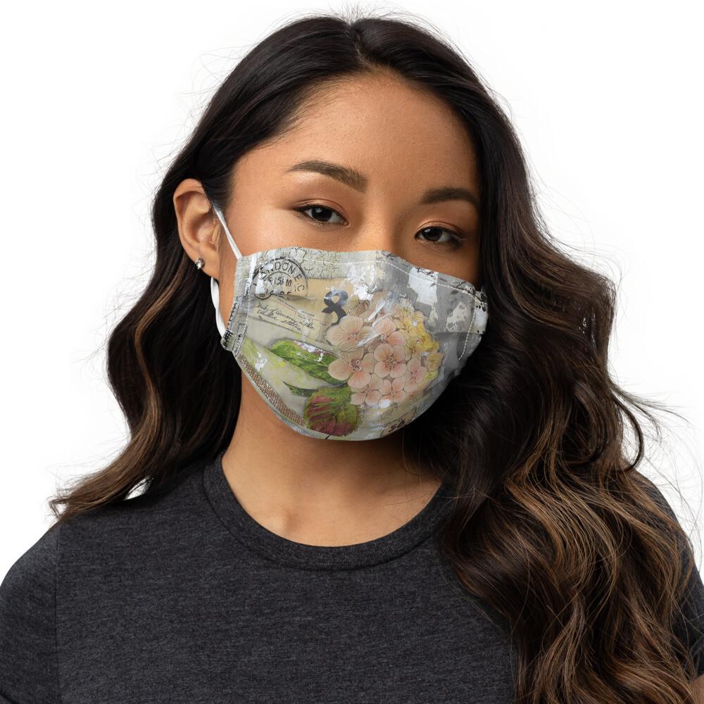 Quite Courage Premium face mask