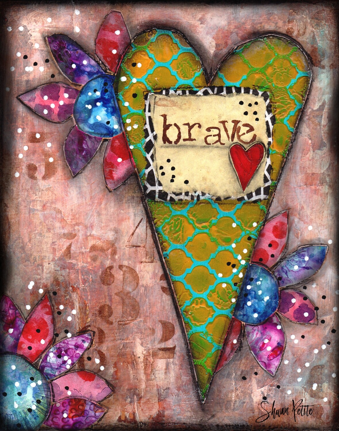 Brave heart, digital instant download