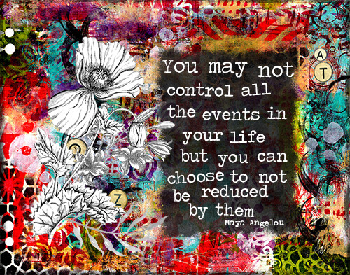 """""""Choose to not be reduced"""" Print on Wood 5x7 Overstock"""