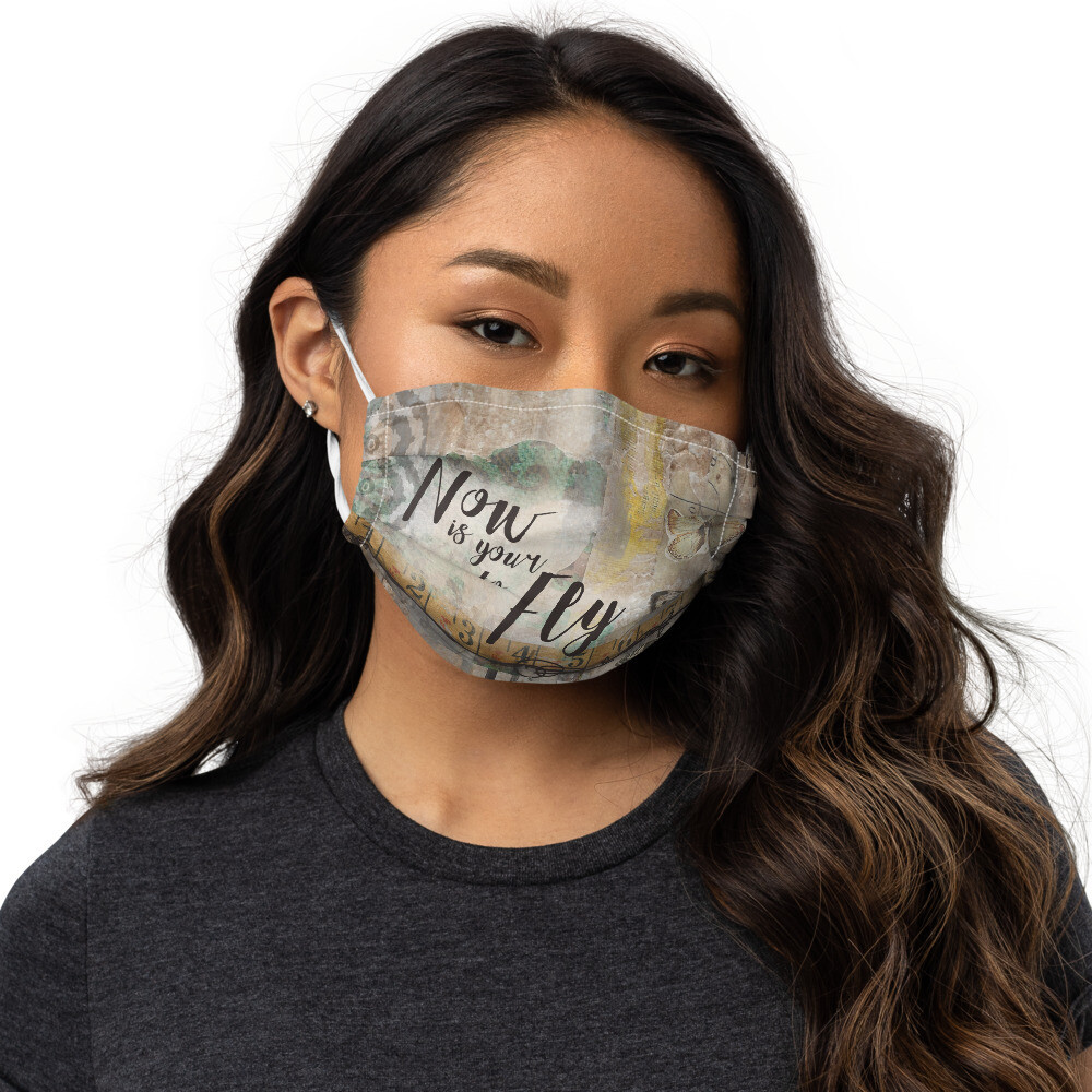 Now is your time to Fly Premium face mask