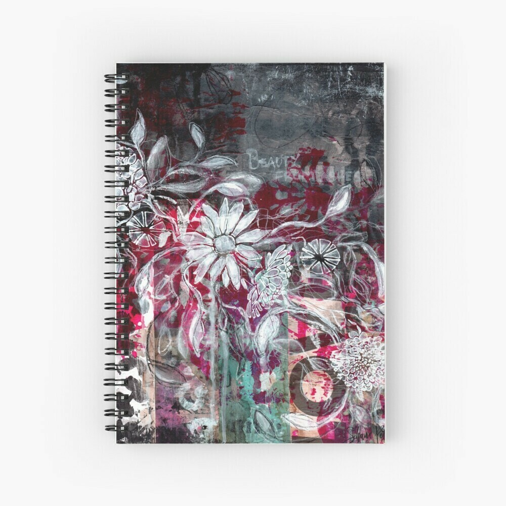 """Spiral Notebook """"Beauty form the Ashes"""""""