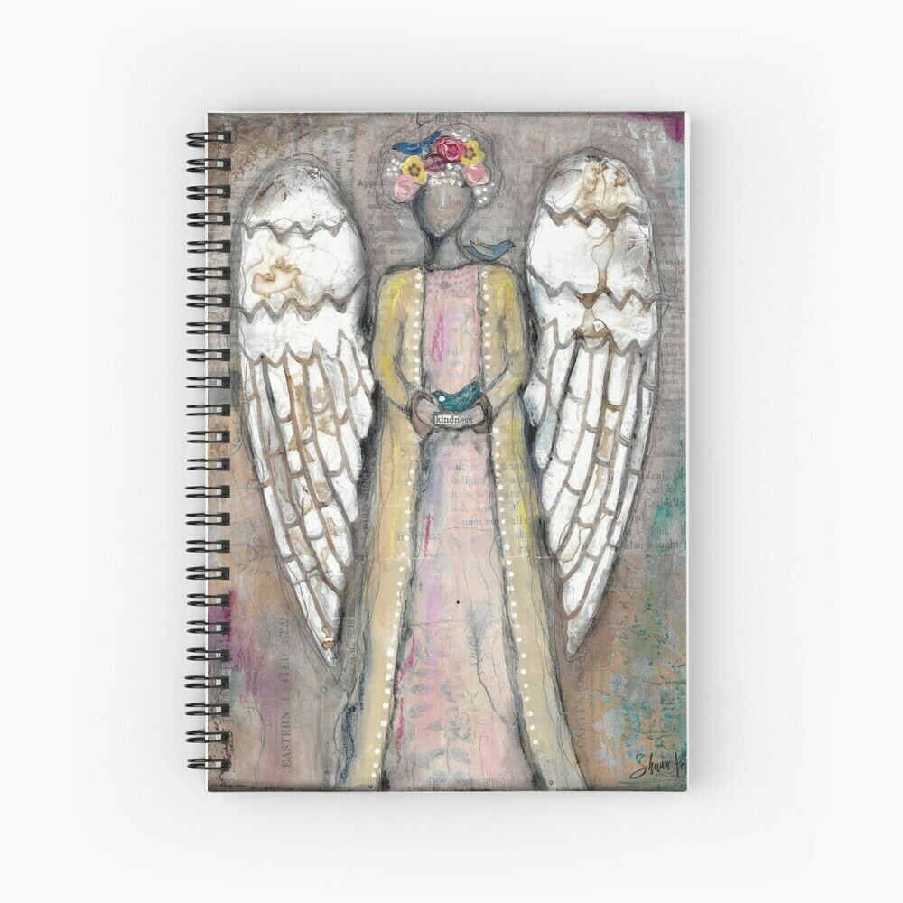 "Spiral Notebook ""Angel of Kindness"""