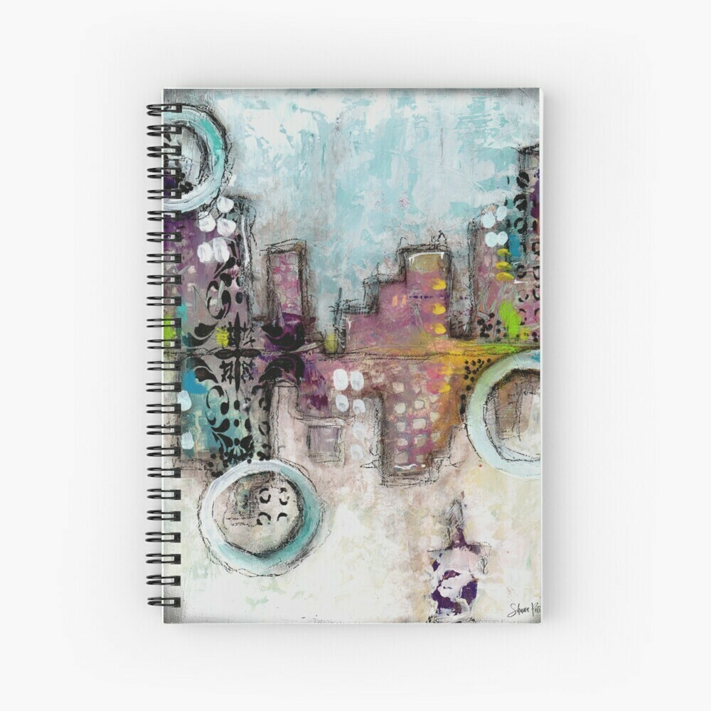 "Spiral Notebook ""Hidden City"""