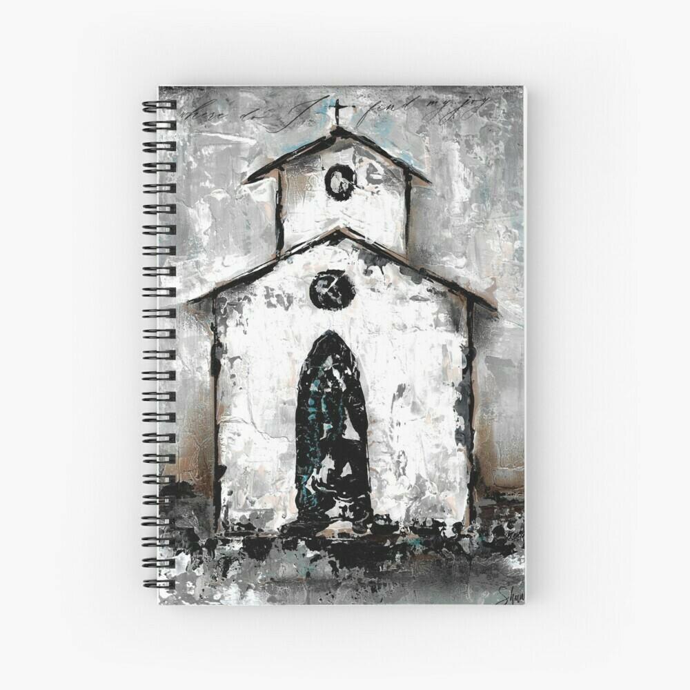 """Spiral Notebook """"Find my Joy"""" church"""