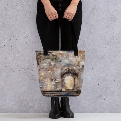 Grungy Arch Tote bag