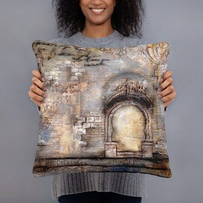 Calm with Arches Basic Pillow