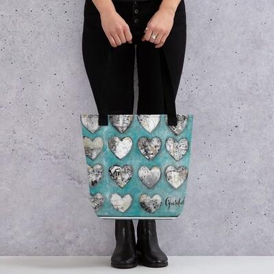 Grateful Hearts Tote bag