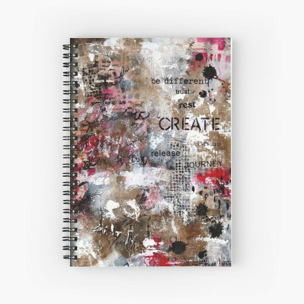 "Spiral Notebook ""Create"""