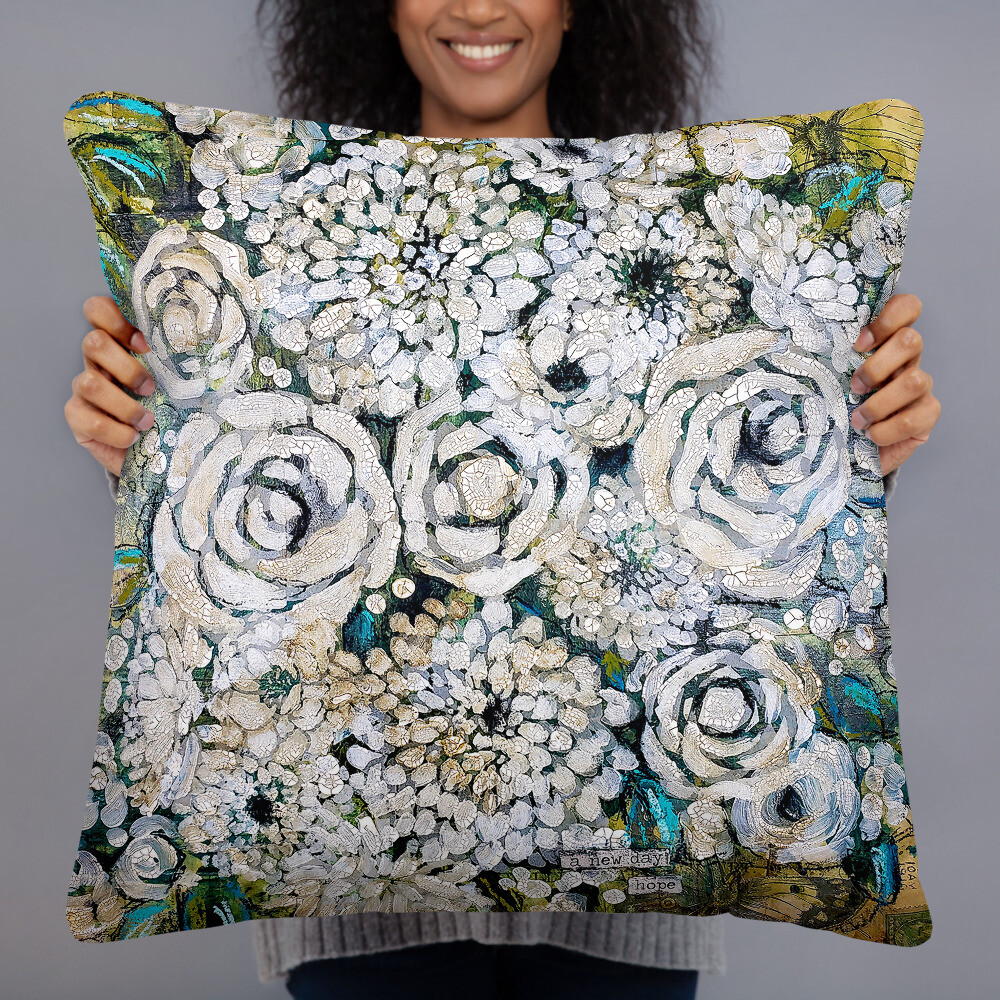 A New Day Pillow