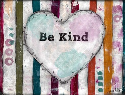 Be Kind, heart digital instant download