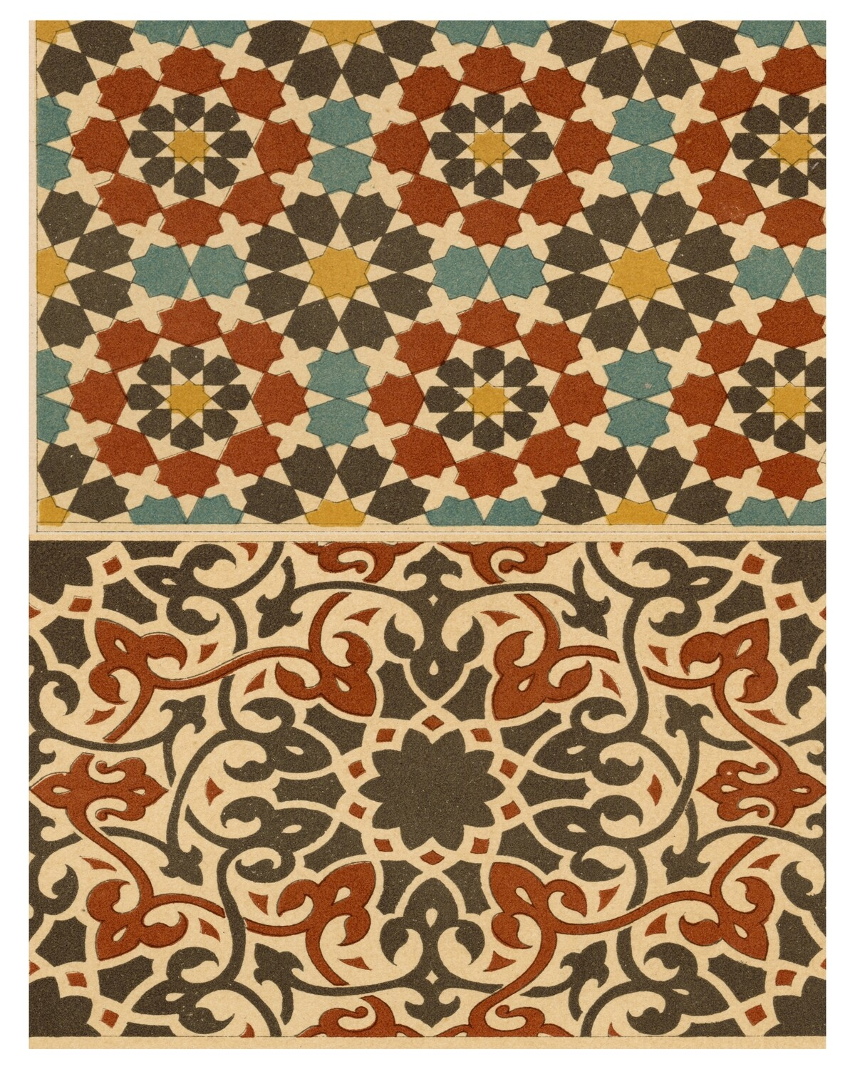 Marikesh Patterns collage pak instant download 5 pages