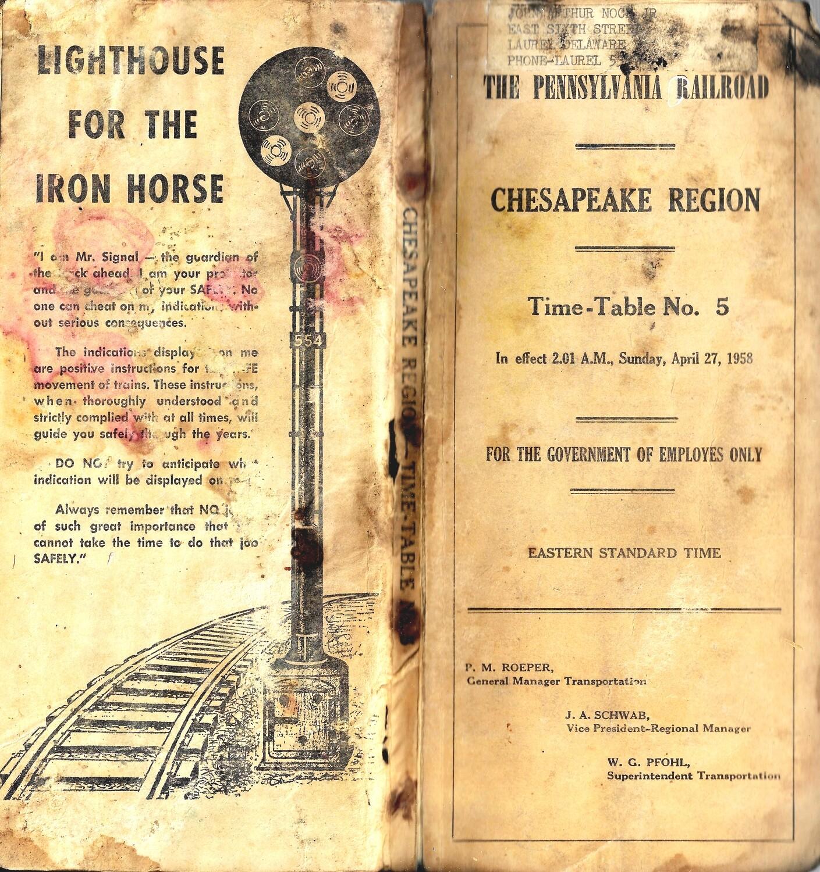 Vintage Pennsylvania Railroad collage pak **PRINTED VERSION** 10 pages