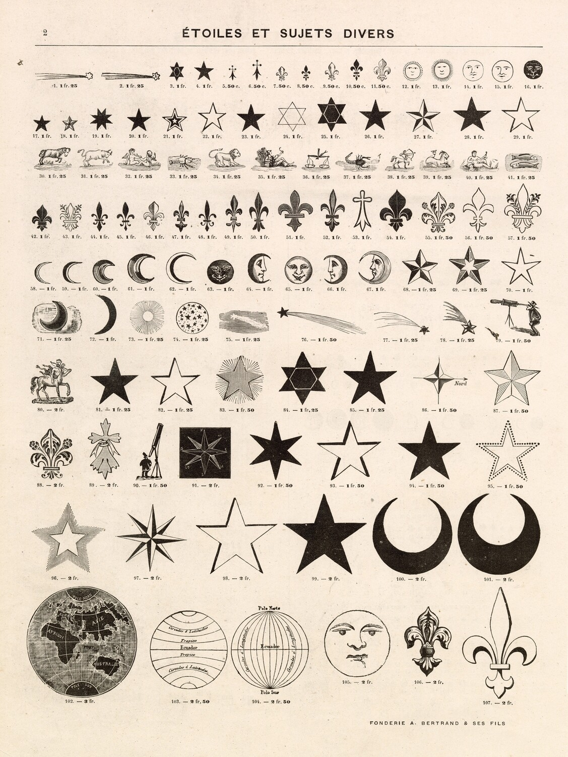 Vintage Symbols and Elements collage pak ***PRINTED VERSION*** 10 pages