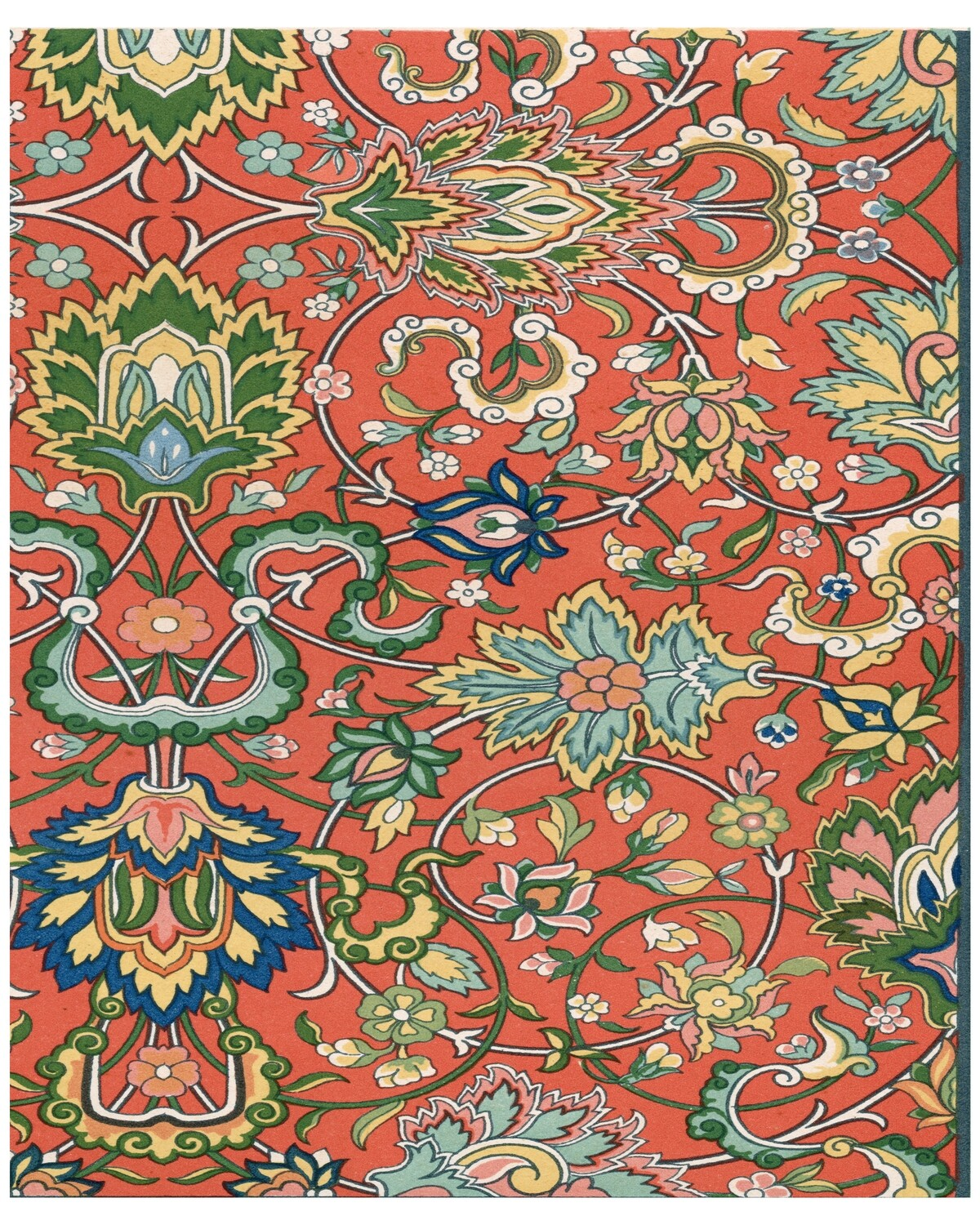 Persians Patterns 1 collage pak ***PRINTED VERSION*** 7 pages