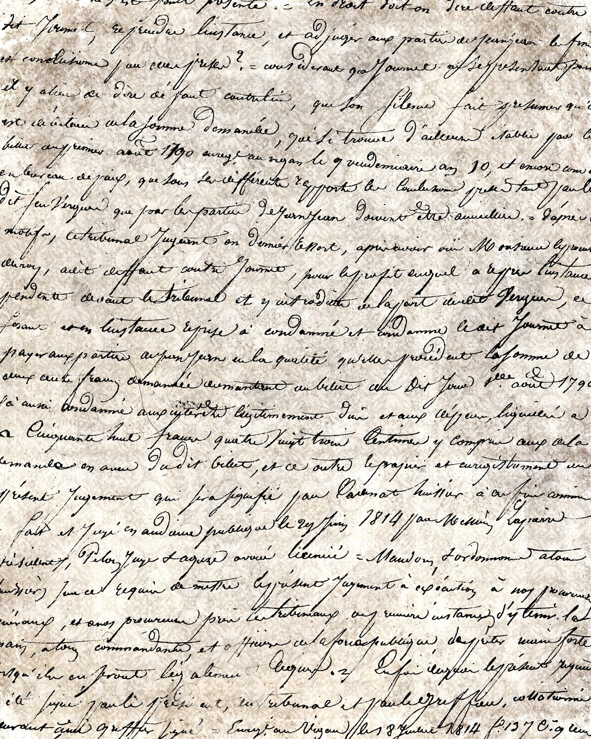 Handwriting with background 1 collage pak ***PRINTED VERSION*** 10 pages