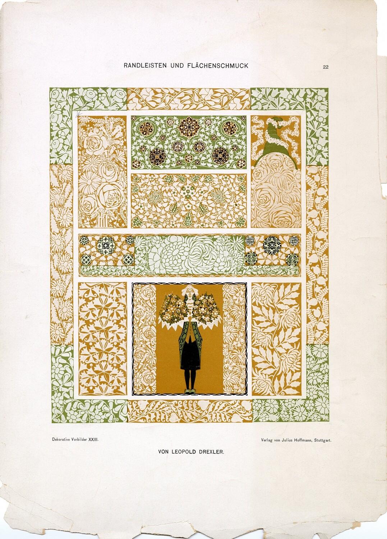 Swedish Patterns collage pak ***PRINTED VERSION*** 9 pages