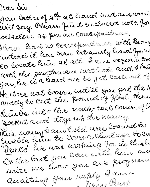 Handwriting 2 collage pak ***PRINTED VERSION*** 9 pages